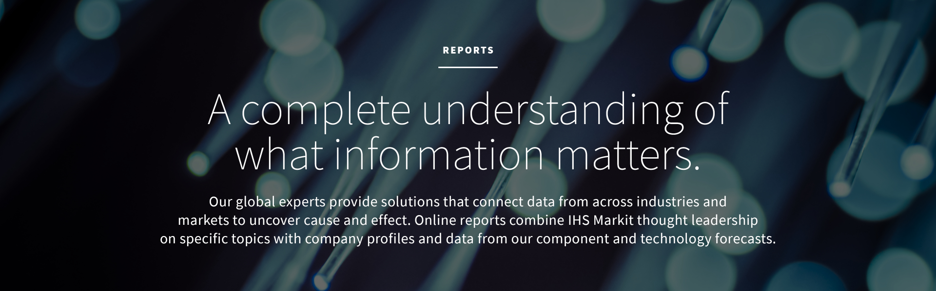 Reports Supplierinsight