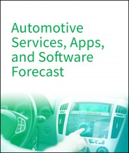Automotive Services, Apps, and Software Forecast