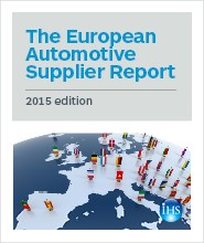 The European Automotive Supplier Report