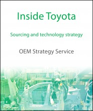 Inside Toyota - Sourcing and technology strategy