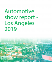 Automotive Show Report - Los Angeles