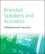 Branded Speakers and Acoustics Report