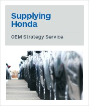 Supplying Honda