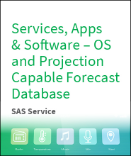 Services, Apps & Software – OS and Projection Capable Forecast Database