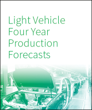Light Vehicle Four Year Production Forecasts - Q1 2018*