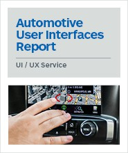 Automotive User Interfaces Report