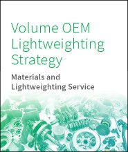Volume OEMs Lightweighting Strategy
