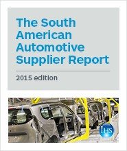 The South American Automotive Supplier Report