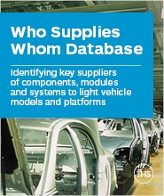 Who Supplies Whom - Complete Database